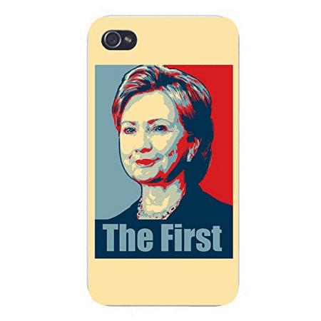 - Apple iPhone Custom Case 4 4S White Plastic Snap On -