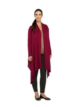 Liz Claiborne NY Drape Front Knit Cardigan A257204