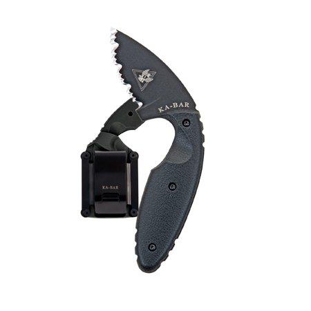 Ka Bar Knives Aluminum Knife - KA-BAR TDI LAW ENFORCEMENT KNIFE FIXED 2.31