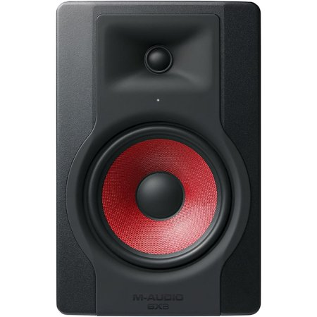 M-Audio BX8 D3 Crimson Powered Studio Reference (Best M-audio Studio Monitors)