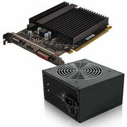 AMD Radeon R5 230 1GB GDDR3 PCI Express 2.0 Graphics Card with 350W Power Supply, Bundle Only