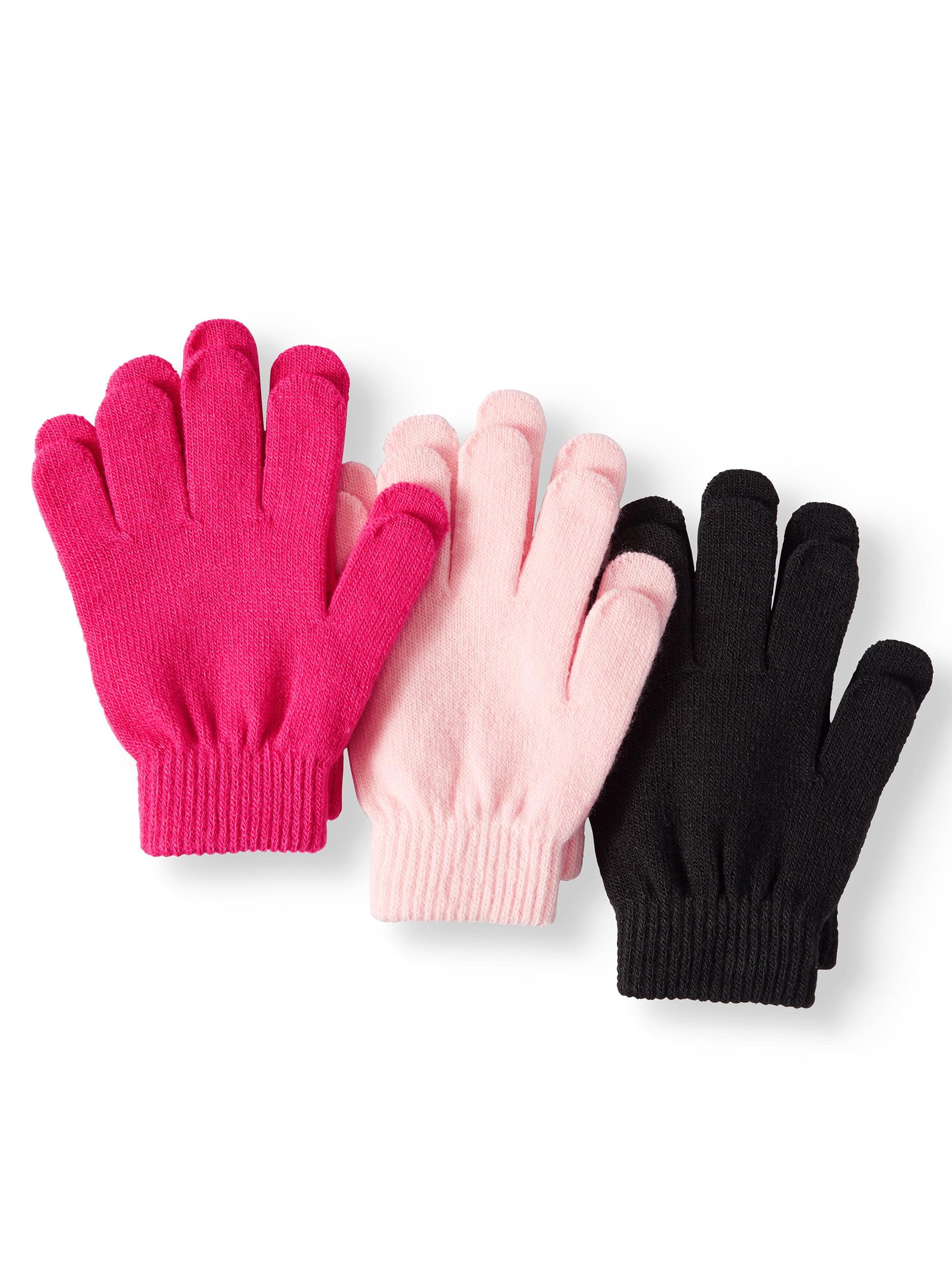 Wonder Nation Girls 3pk Glove
