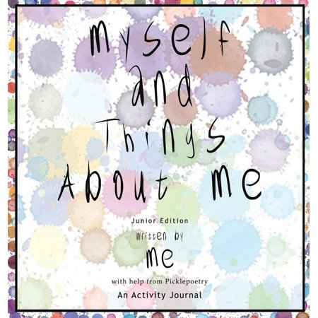 Myself and Things about Me (Hb): An Activity Journal - Activities For Halloween Near Me