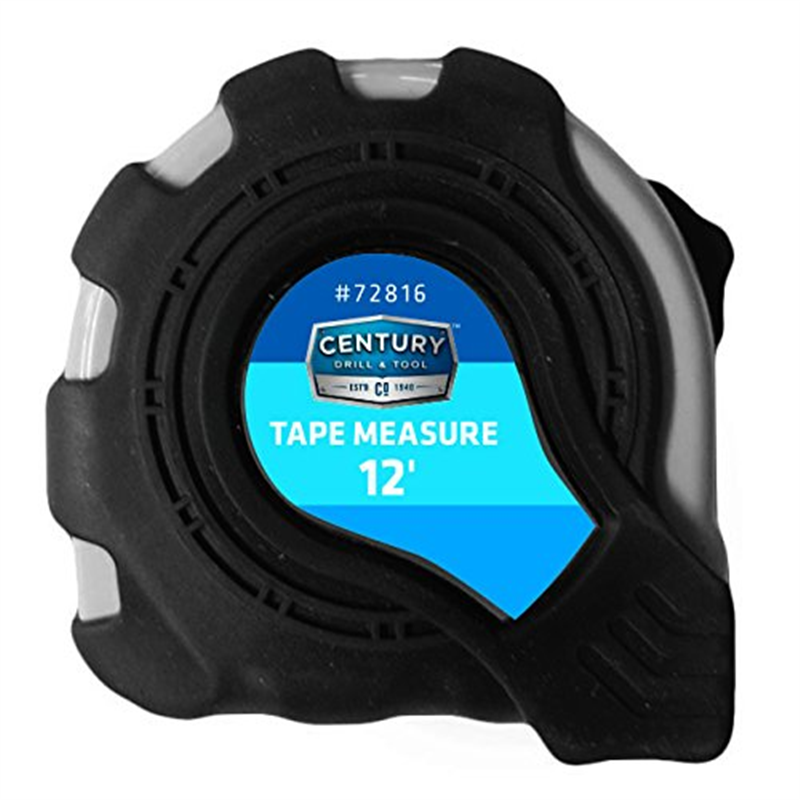 Century Drill and Tool 72816 Heavy Duty Tape Measure, 12-Foot