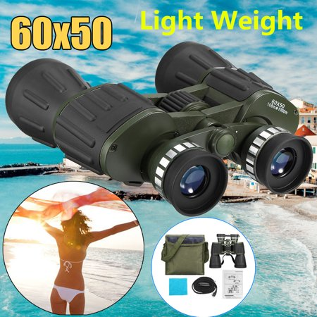 Military Army 60x50 HD Zoom Binocular Low-Light Night Vision Outdoor Hunting Camping Handheld Telescope with Hand