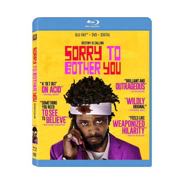 Sorry to Bother You (Blu-ray + DVD)