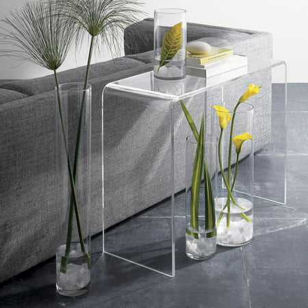 Acrylic Console Table - 15in Depth