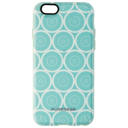 PureGear Motif Series Hybrid Case for Apple iPhone 6s/6 - Mint Circles/Blue - image 1 de 1