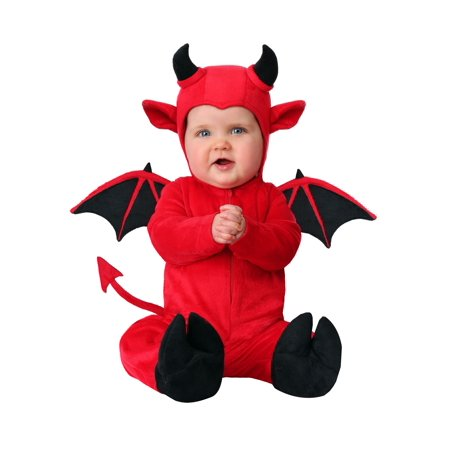 Infant Adorable Devil Costume - Devil Costumes For Men