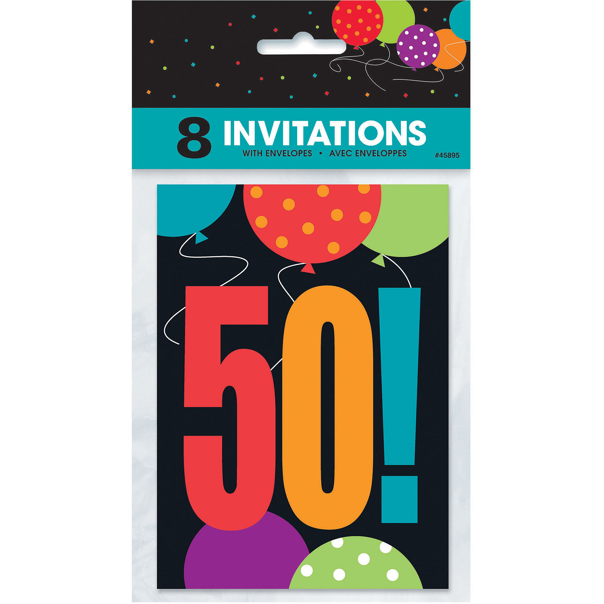 Emoji Invitations 8ct