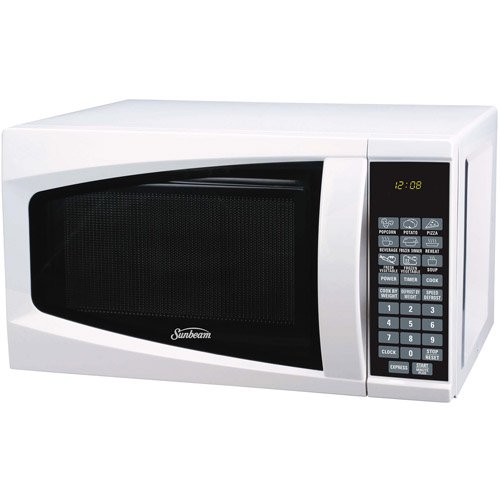 Sunbeam 0 7 Cubic Foot Microwave Oven White