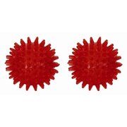FitBALL Red Spiky Therapy & Massage Balls - 2 Pc Set