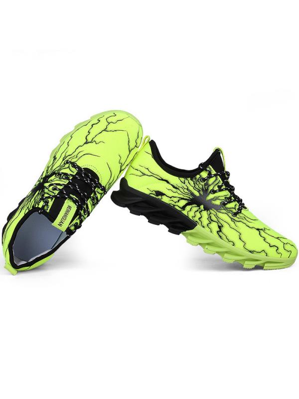 Meigar Men's Sport Shoes Athletic Shock Absorbing Outdoor Running Breathable Sneakers