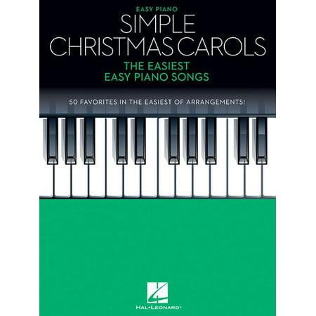 Simple Christmas Carols : The Easiest Easy Piano Songs ()