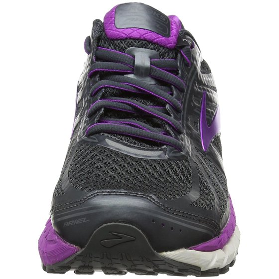 e66b16288a49f Brooks - Brooks Women s Ariel  16 Anthracite Purple Cactus Flower ...