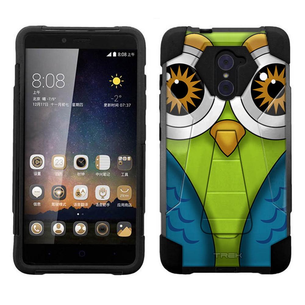 ZTE Grand X Max 2 Hybrid Stand Case - Owl