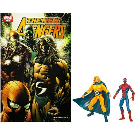 Marvel Universe Marvel's Greatest Battles Comic Packs: Spider-Man and Sentry ()