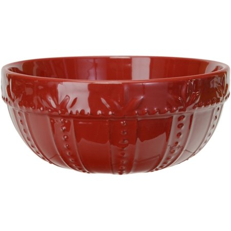 "Signature Housewares Sorrento 8"" Mixing Bowl - Ruby"