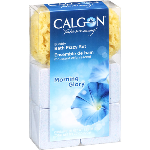 Calgon Morning Glory Bath Fizzies, 4ct
