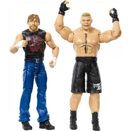 WWE Dean Ambrose & Brock Lesnar Action Figures 2-Pack - Wwe Halloween Dean Ambrose