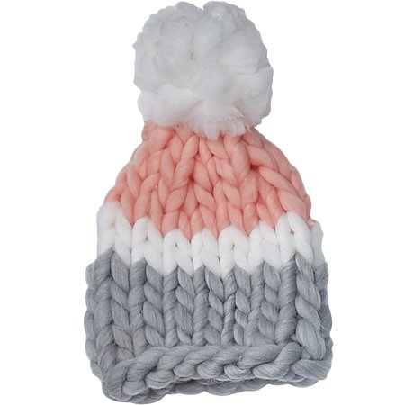 Chunky Knit Hat, One Size Fits Most, 100% Acrylic, Multiple Colors