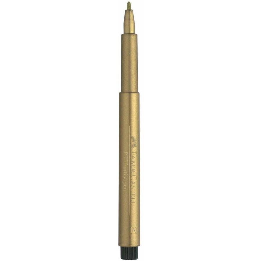 Gold And Silver Blister Pack Pitt Artist Pen Metallic Faber-Castell