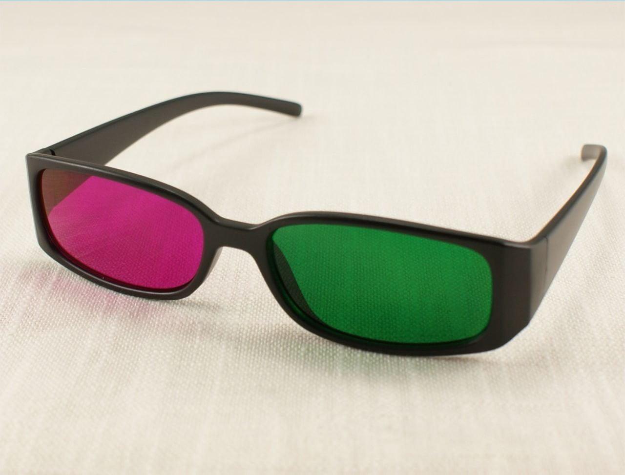 Красно-зеленые очки картинки