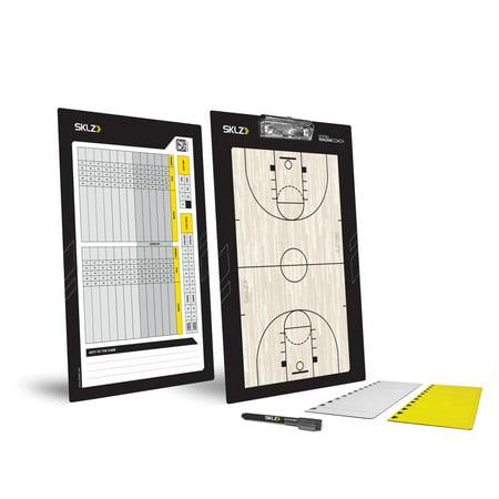 SKLZ MagnaCoach Whiteboard Basketball Coaching Tool with Dry-Erase (Coaching Board)