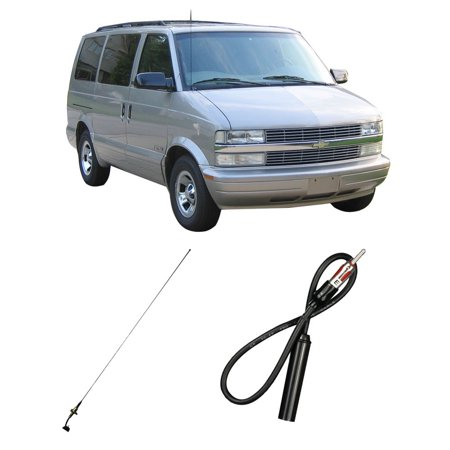Astro Van Factory Service Manual - Chevy Astro Van 1985-2005 Factory Replacement Radio Stereo Custom Antenna