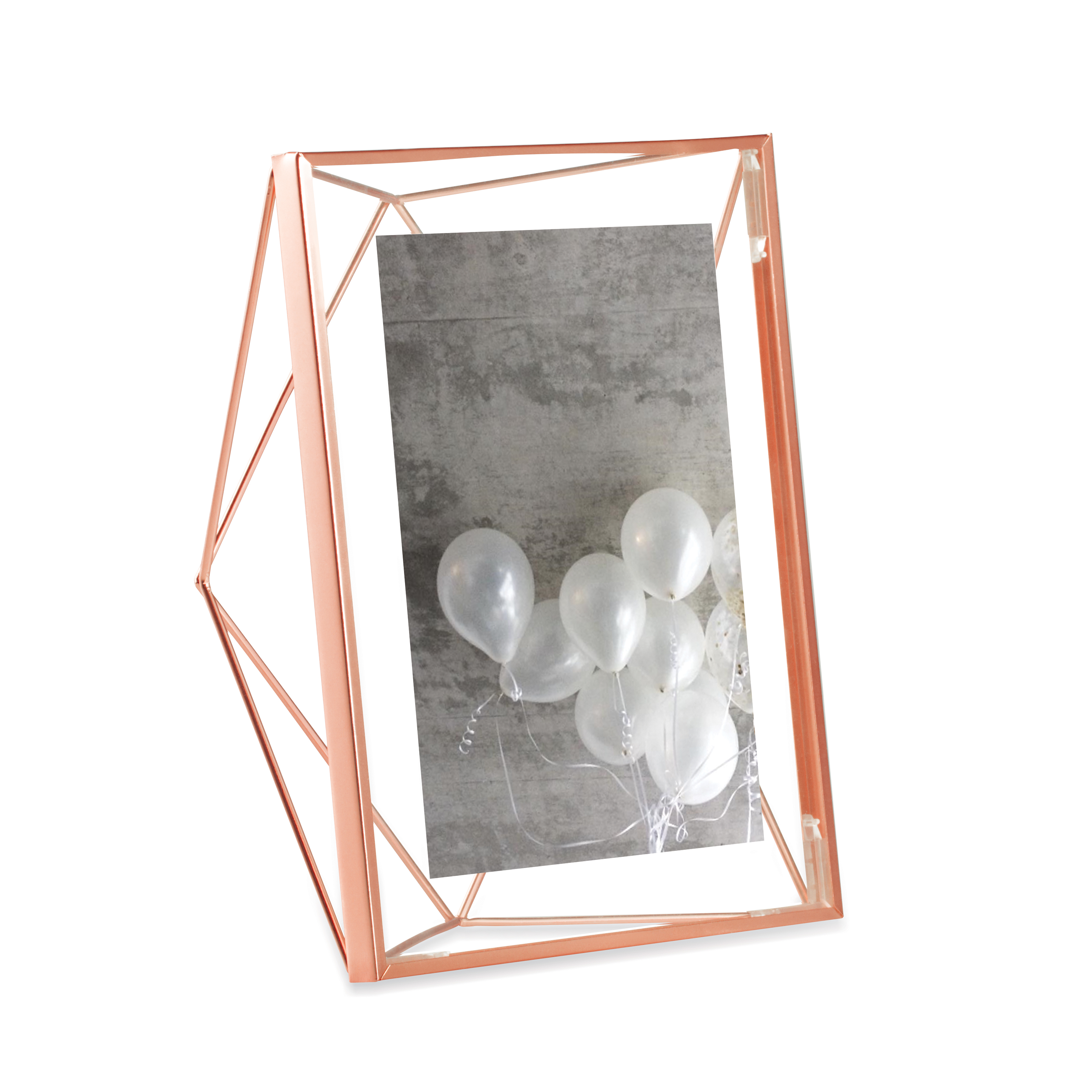 Umbra Prisma Picture Frame, 5 by 7-Inch, Copper
