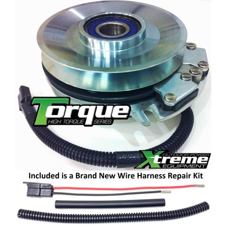 bundle - 2 items: pto electric blade clutch, wire harness repair kit   replaces