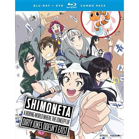 Shimoneta: A Boring World Where the Concept of Dirty Jokes Doesn't Exist (Blu-ray)