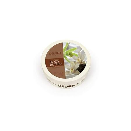 DELON LABORATORIES Body Butter Vanilla, Off White, 196 Gram ()