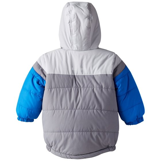 7d401422b0a Big Chill Toddler Boy Fleece Lined Expedition Puffer Jacket Winter Coat  with Hood