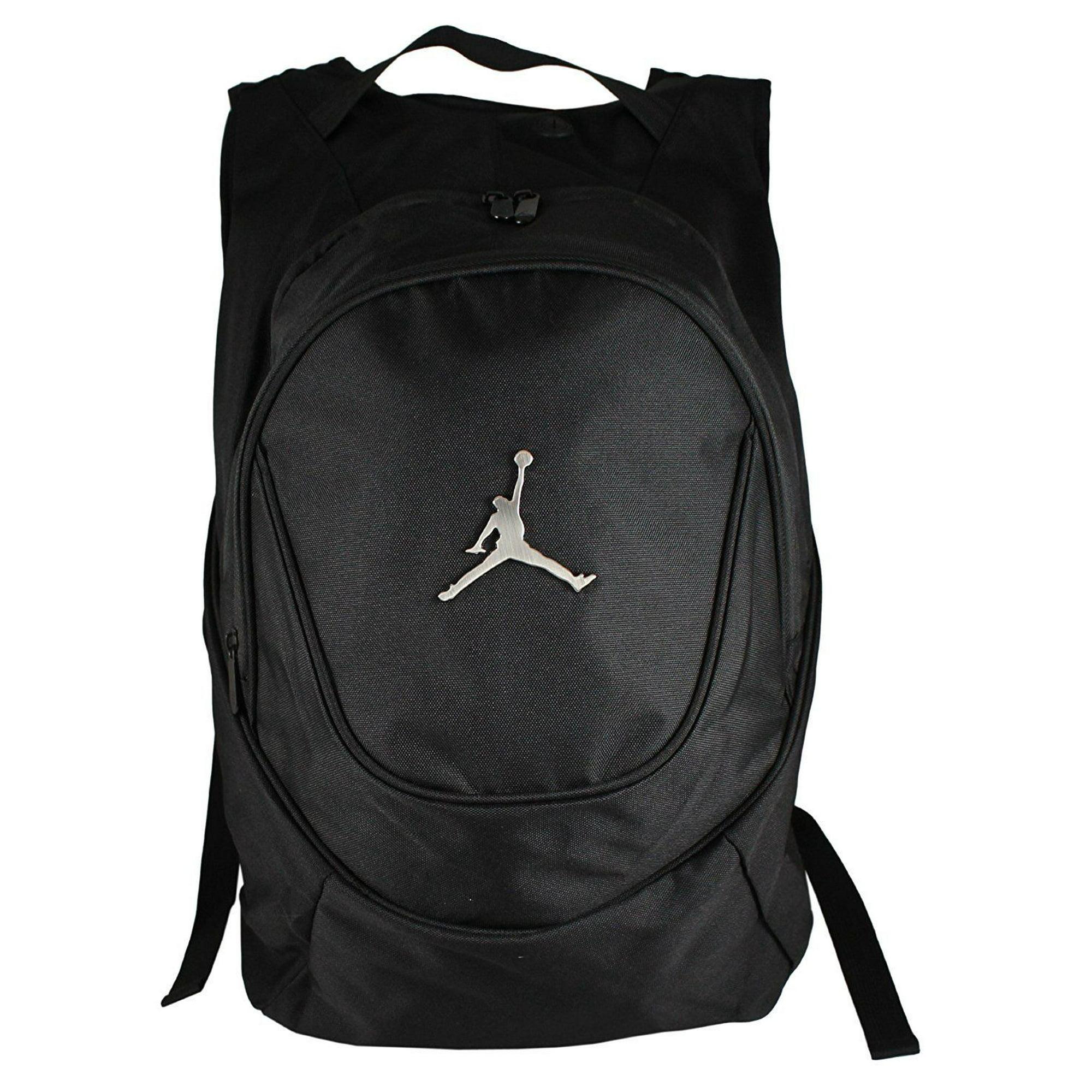 512d9f1f8fdd84 Buy Nike Jordan Jumpman 23 Round Shell Style Backpack - Black ...
