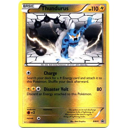 Pokemon Promo Thundurus BW41 - Promo Coupons