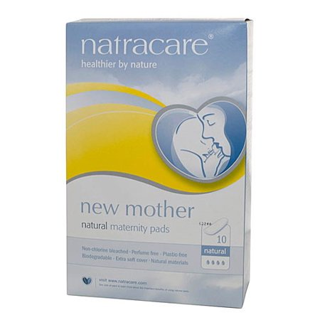 542d7ed3b3143 Natracare New Mother Natural Maternity Pads, 10 Ct - Walmart.com
