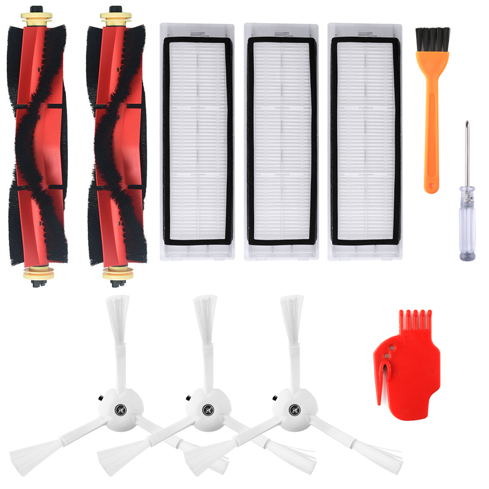 Side Brush Replace Part Assembly For Xiaomi Roborock S50//S51//S55 Vacuum Cleaner