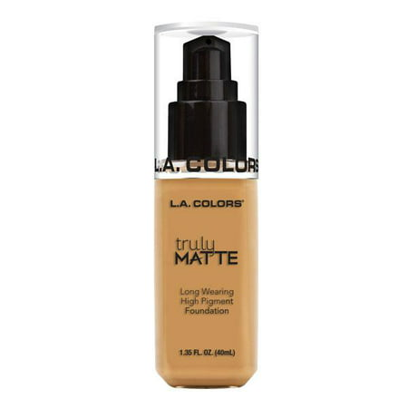 L.A. COLORS Truly Matte Foundation - Golden Beige
