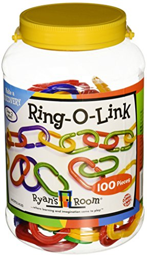 Small World Toys Ryan's Room Educational Ring-O-Links 100 pc. by
