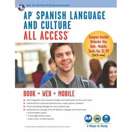 AP Spanish Language and Culture All Access w/Audio -
