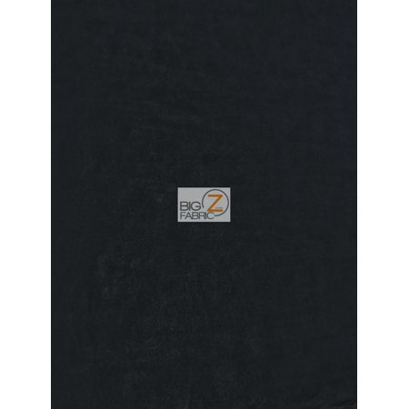 Microfiber Suede Upholstery Fabric / Black / Passion Suede Microsuede ()
