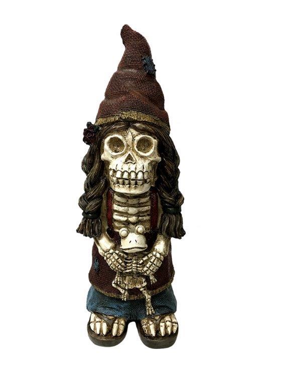 Halloween Zombie Gnome,zombie knomes,halloween outdoor decor
