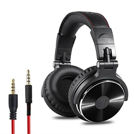 OneOdio Adapter-free Closed Back Over-Ear DJ Stereo Monitor Headphones, Professional Studio Monitor & Mixing, Telescopic Arms with Scale, Newest 50mm Neodymium Drivers- Glossy