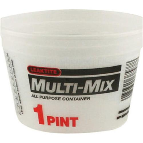 LEAKTITE 1-Pt. Multi-Mix Container