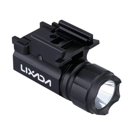 High Supply LED Tactical Gun Flashlight 600LM 2-Mode Handgun Torch Light (Gun Light)