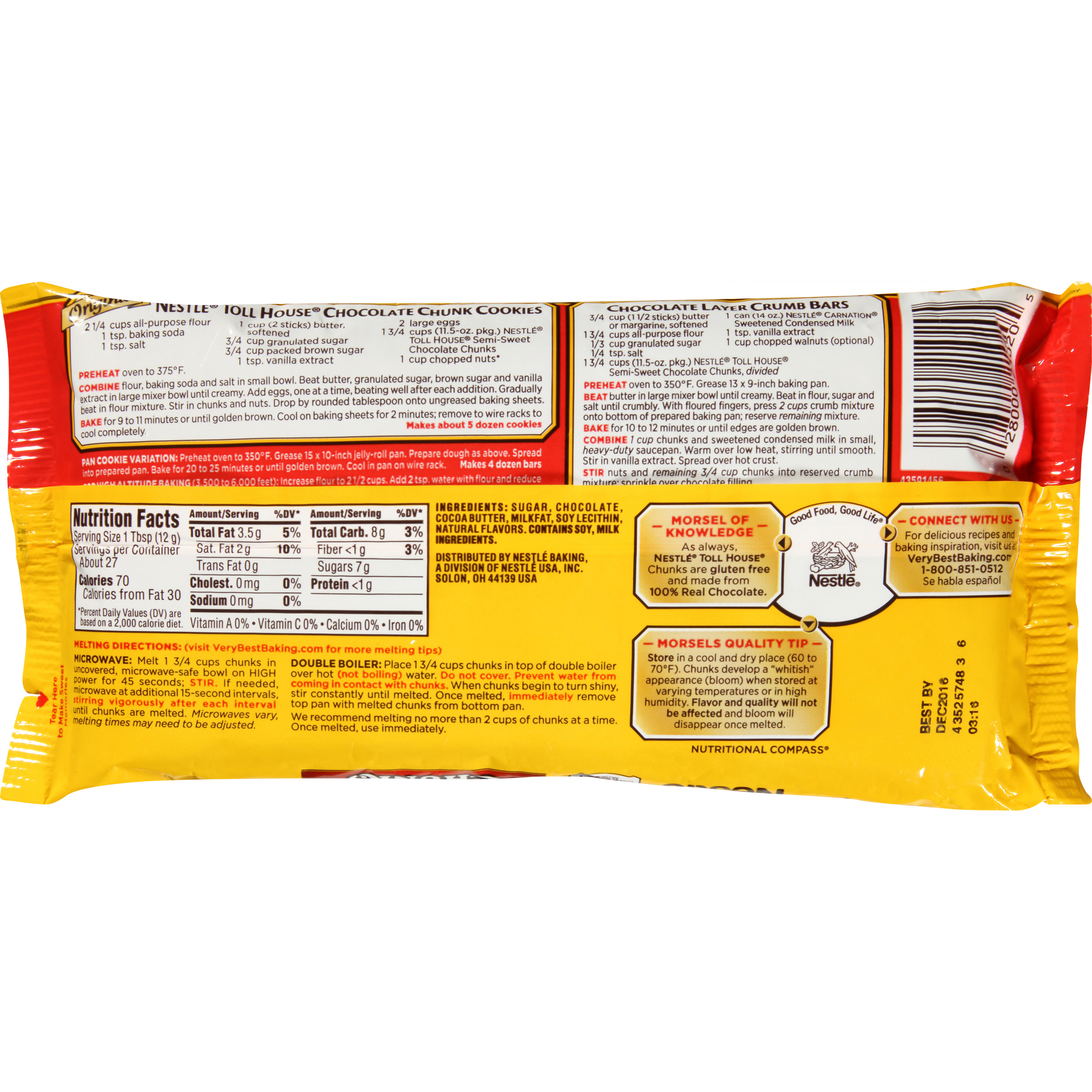 Nestle Toll House Pie Nutrition Facts Nutrition Ftempo
