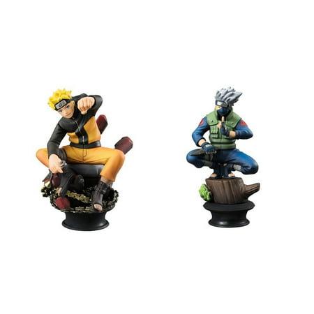 Naruto Shippuden Naruto & Kakashi LE Chess Piece Collection R Trading - Naruto Trading Figures