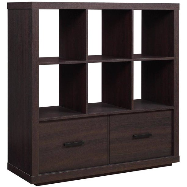 Better Homes Gardens Steele 6 Cube Storage Room Organizer With
