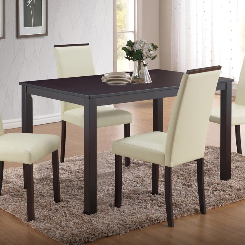 Global Furniture Dining Table in Cappuccino